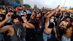 عودة التظاهرات مجددا لليوم الخامس على التوالي في العاصمة بغداد