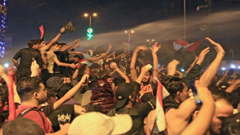 حقوق الانسان تؤشر 14 نقطة على تظاهرات بغداد والمحافظات