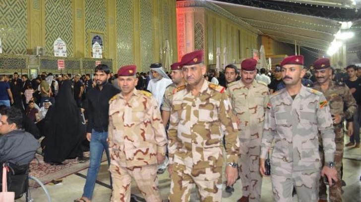 تكليف الفريق الركن قيس المحمداوي قائدا لعمليات بغداد