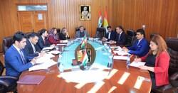 ارسال مقترح قانون الى حكومة كوردستان