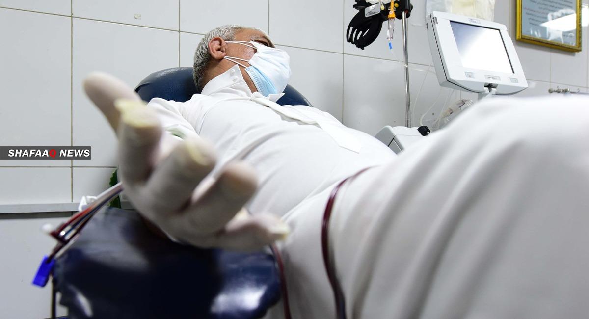 کۆڕۆنا گیان دوو پزشک عراقی سینێد
