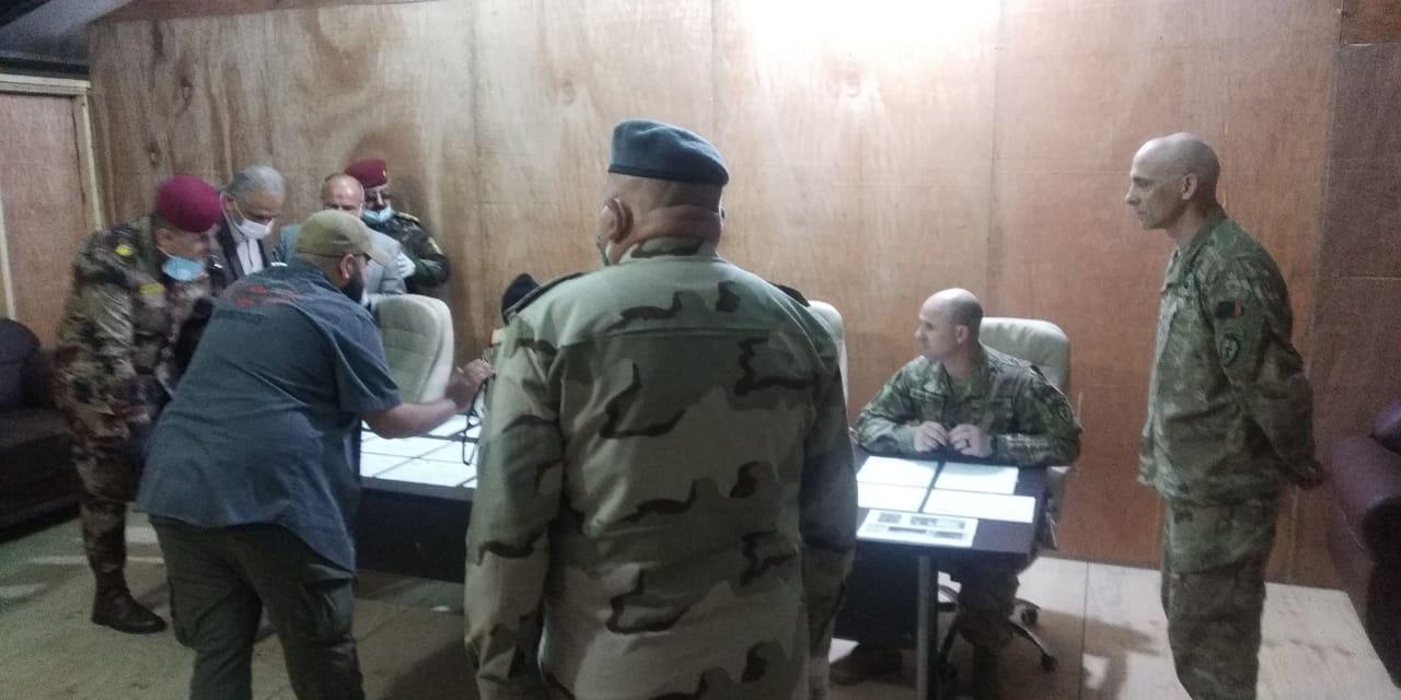 القوات الامريكية تسلم مواقعها بمدينة الموصل للقوات العراقية
