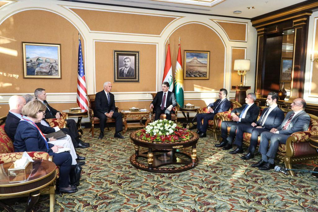 Barzani: We want to develop relations with America in all fields