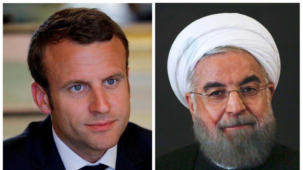 روحاني لماكرون: يمكننا مراجعة إجراءاتنا والتفاوض مع امريكا يتوقف على امر