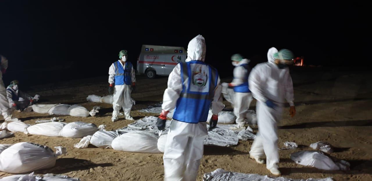 عراق لە ماوەی ٢٤ ساعەت تەرم ٧١ مردگ وە کۆرۆنا وەخاکسپارد