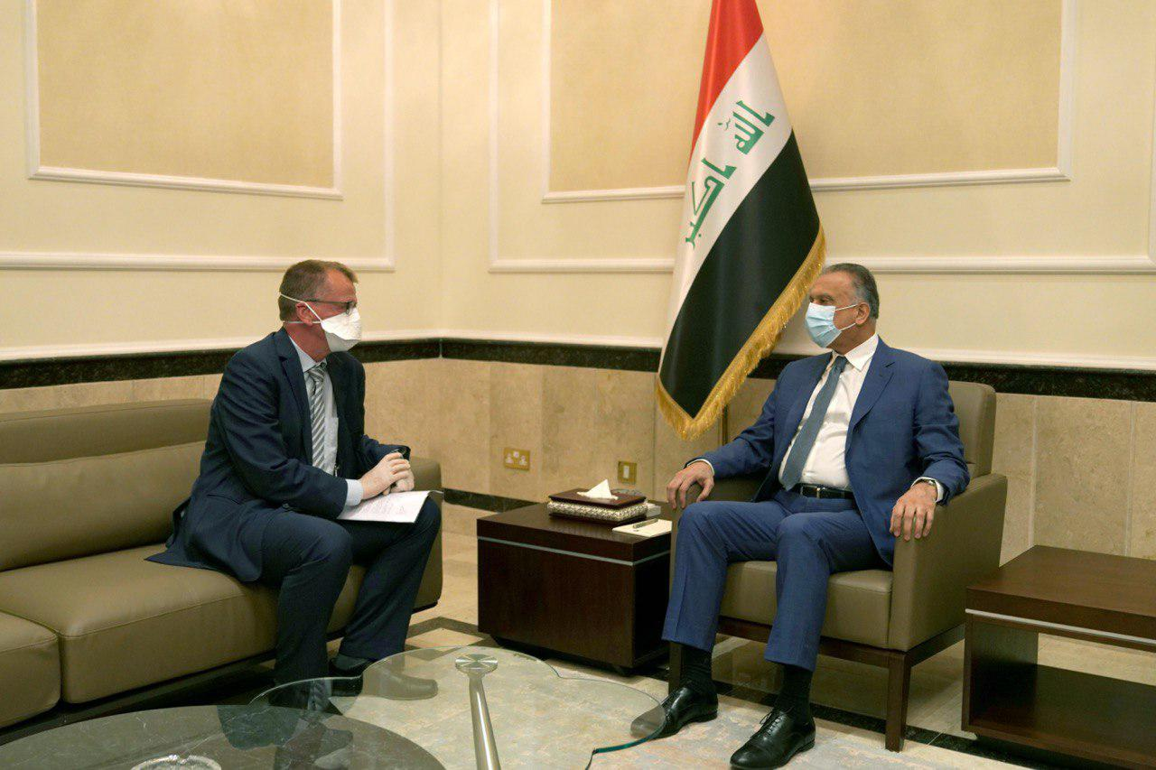The German ambassador emphasizes his country's support to Iraq
