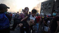 """ماعلاقة """"جماعة دينية منحرفة"""" بتهديد المتظاهرين بالعراقيين بالقتل؟ صاحب  التسجيل يجيب"""