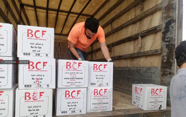 """""""بارزاني الخيرية"""" توسع حملتها لكركوك: مساعدات لكافة القوميات"""