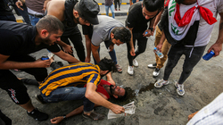 Including security elements...14 injured during protests in Dhi Qar