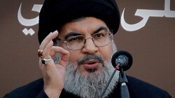 """نصر الله يعد العراق """"فرصة عظيمة مفتوحة"""" أمام لبنان"""