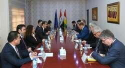 حكومة كوردستان تستعرض لاوربا تطورات 5 ملفات