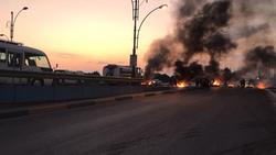 اطلاق رصاص حي في البصرة ومتظاهرون يقطعون جسوراً