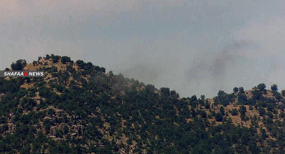 """الطائرات التركية تقصف منطقة شمال اربيل واندلاع اشتباكات """"عنيفة"""" مع pkk"""
