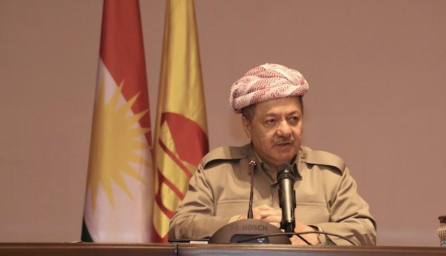 مسعود بارزاني يوجه كلمة للرأي العام في العراق واقليم كوردستان
