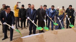 Iraq lays the cornerstone for the first underwater tunnel