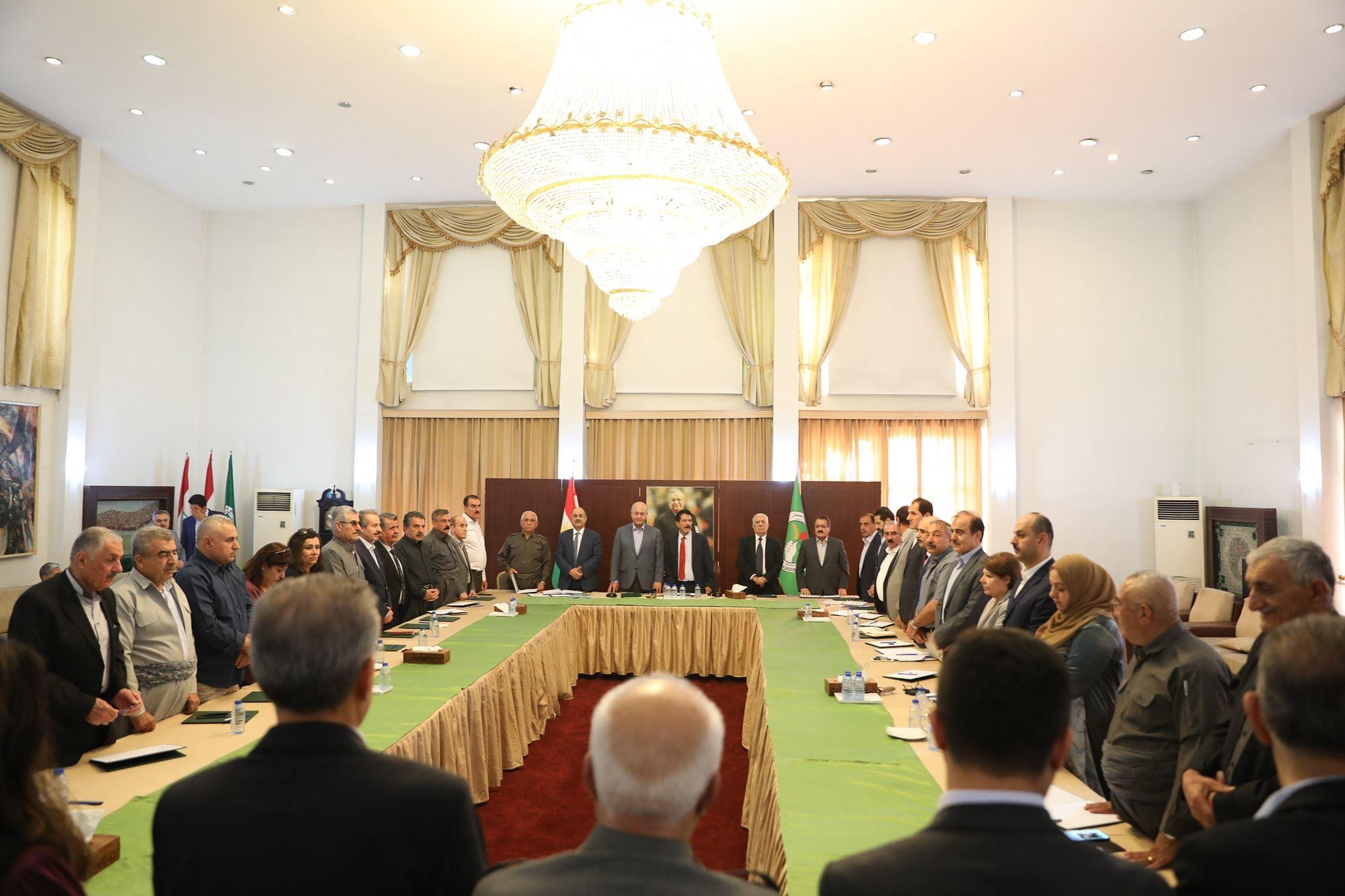 بالاسماء .. مرشحو الاتحاد الوطني للوزارات في الحكومة الجديدة لإقليم كوردستان