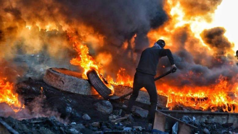 """رؤية فرنسية تسمي """"اخر"""" معقل للاحتجاجات في العراق"""