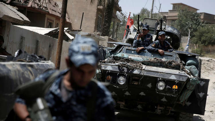 انطلاق عملية عسكرية لملاحقة فلول داعش غربي العراق