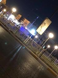 صور .. قوة امنية تزيل تمثال عبد الوهاب الساعدي في الموصل