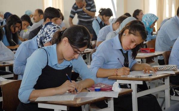 تظاهرات طلابية في اقليم كوردستان