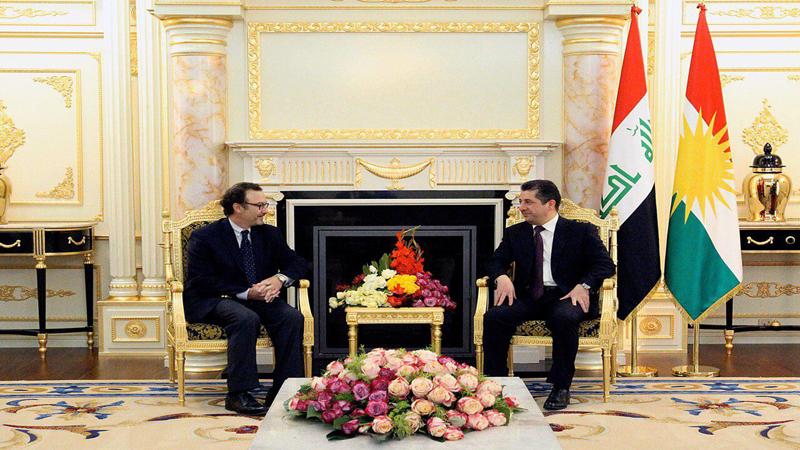 كوردستان: ئهرا يهكلاكرنهوهى كيشهيل چهوهڕێ گامهيل راسى له بهغدا ئهكهيم