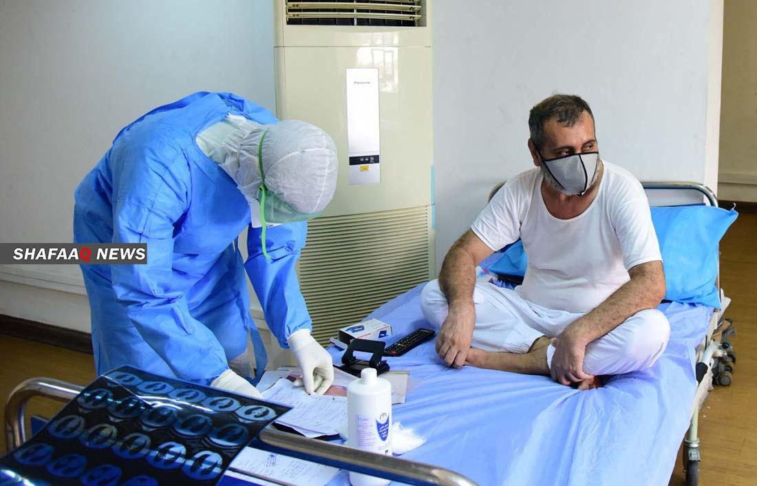 قرابة 2700 اصابة جديدة و48 حالة وفاة بكورونا في العراق