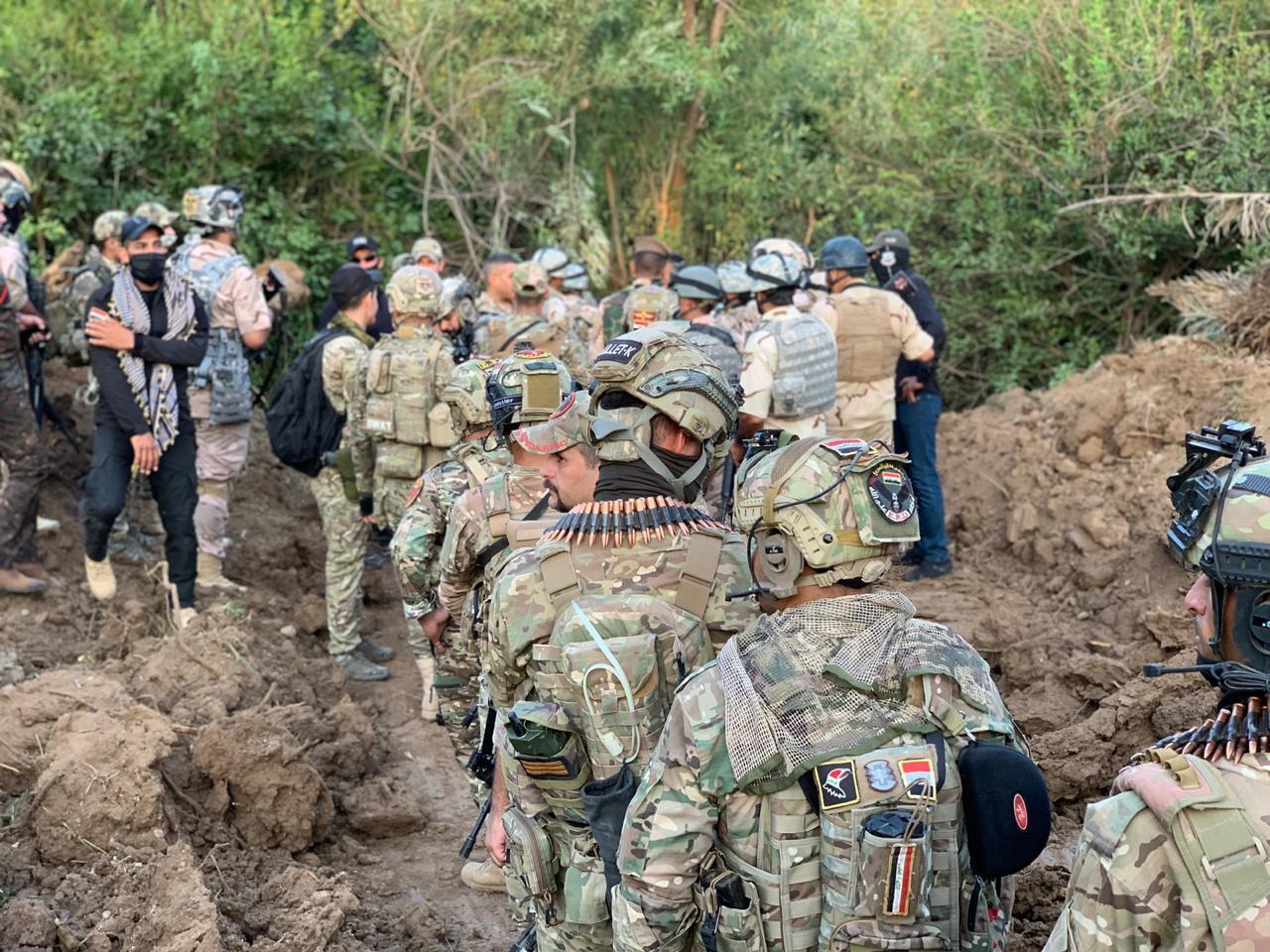 ئۆپراسیۆن سەربازی عراقی لەبۆشاییەگەی ناوبەین پێشمەرگە و هێز فیدڕاڵی
