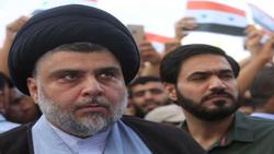 الصدر ينضم للمتظاهرين في النجف
