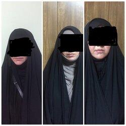اعتقال عصابة افرادها من النساء يقمن بالسرقة بآلات خاصة بمدينة الطب في بغداد