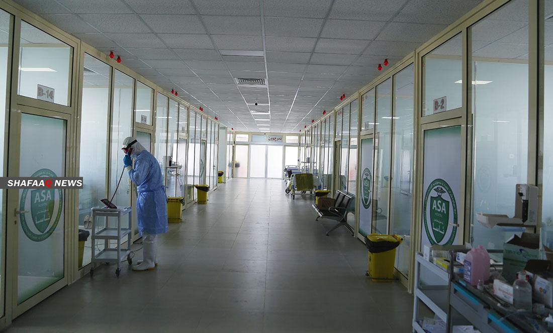 السليمانية تسجل 9 حالات وفاة جديدة بفيروس كورونا