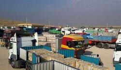 17 ألف طن من السلع الإيرانية إلى العراق خلال اسبوع