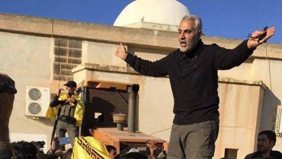 الحرس الثوري ينشر فيديو لعملية عسكرية اشرف عليها سليماني داخل دولة عربية