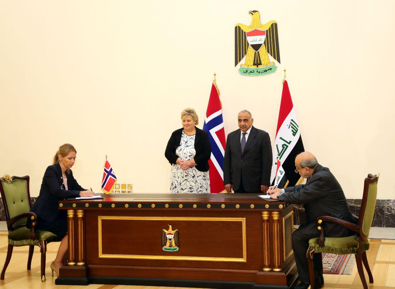 Iraq and Norway make several understandings, including the oil-for-development agreement
