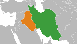 اعادة فتح معبر حدودي بین العراق وایران