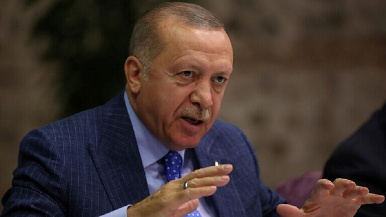 أردوغان يعلن منطقة آمنة داخل الأراضي السورية بطول 444 كم وعمق 32 كم