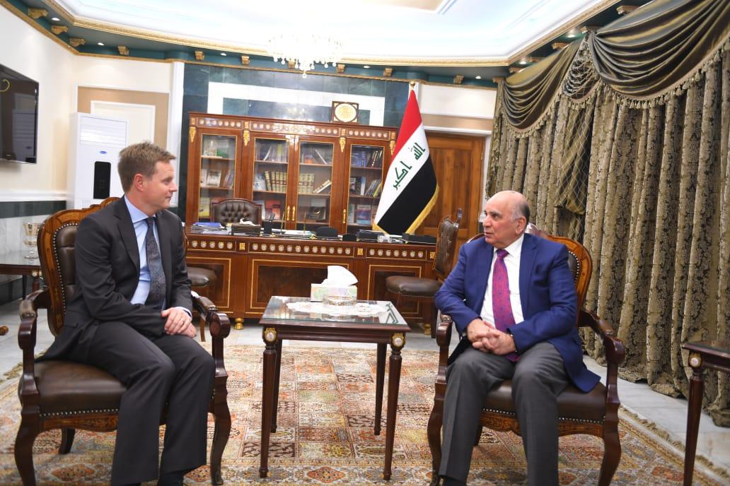 بريطانيا تبدي استعدادها للتعاون مع العراق بشأن كورونا