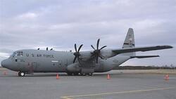 هبوط اضطراري لطائرة عسكرية دولية يتسبب بحادث في قاعدة عراقية