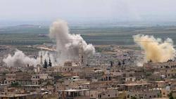 مقتل خمسة مقاتلين من الفصائل المسلحة بقصف مجهول قرب الحدود العراقية