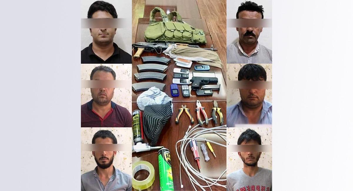 """السلطات في اربيل تطيح بعصابة """"خطيرة"""""""