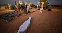 دفن جثمان 65 متوفيا بكورونا خلال 24 ساعة في العراق