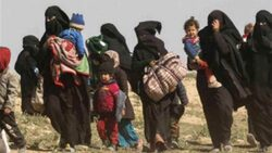 في حادث ثالث خلال ايام.. مسلحون يهاجمون بقنابل مخيم لعوائل داعش بصلاح الدين