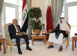 عبد المهدي وآل ثاني يبحثان عدة ملفات في الدوحة