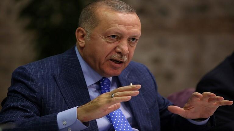 اول تعليق من اردوغان على انتشار الجيش السوري على الحدود