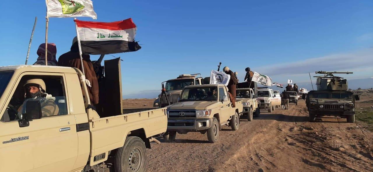 انطلاق عملية عسكرية واسعة لمطاردة داعش في جزيرة نينوى