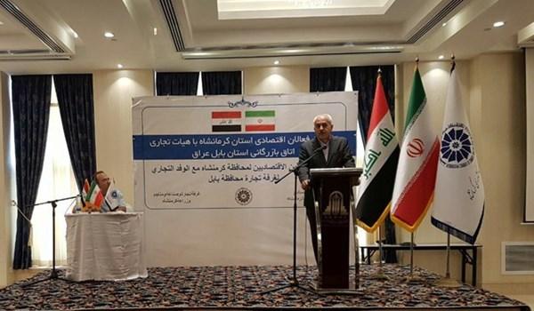 ايران تعلن حجم صادراتها الى العراق وتشكو من امر