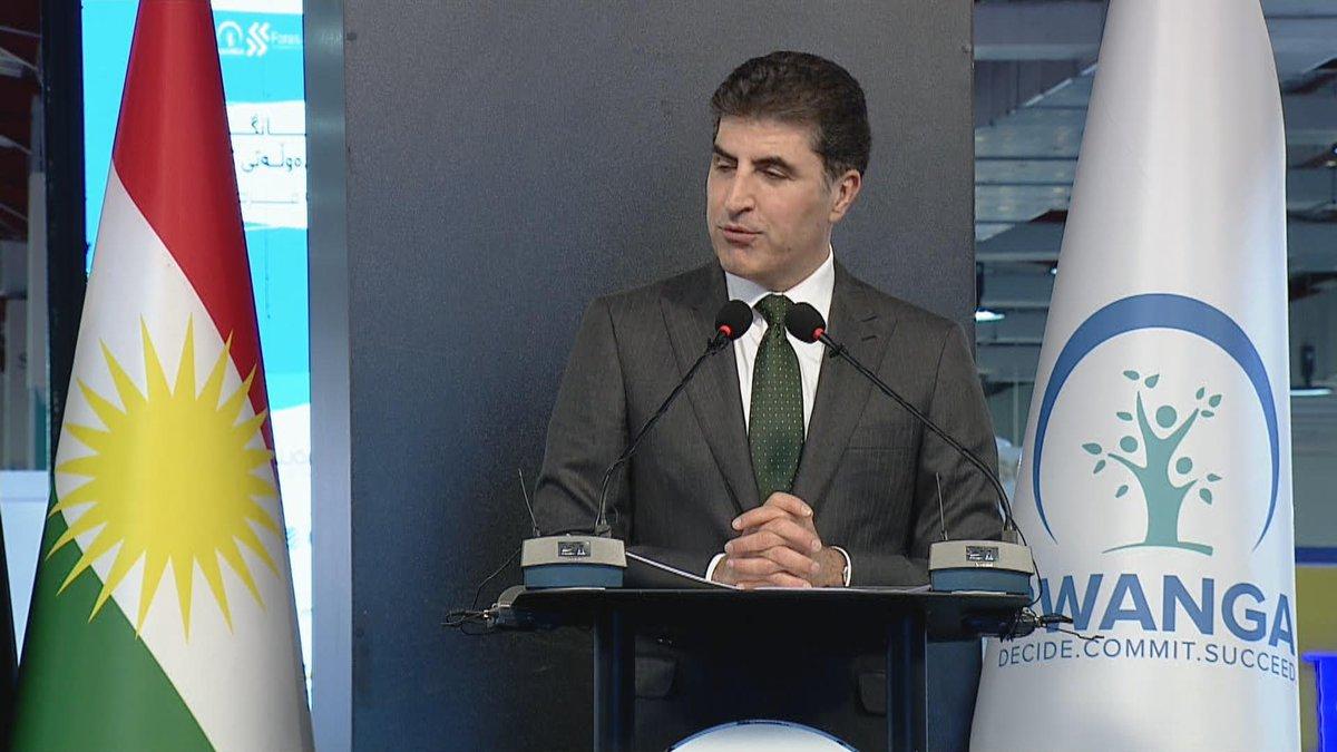 بارزاني يتوقع تحسن السوق وتوفير فرص العمل في اقليم كوردستان