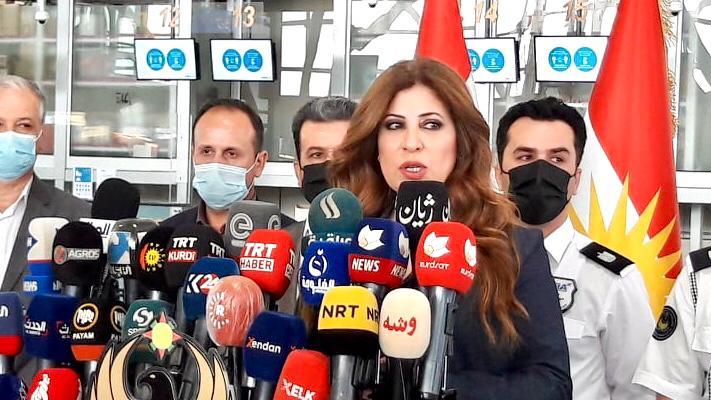 مطار اربيل يعلن تمديد تعليق الرحلات بقرار من بغداد