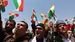 وقفة احتجاجية منددة بأردوغان أمام مقر الامم المتحدة بكوردستان