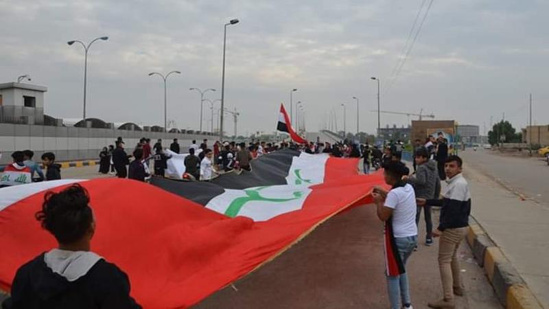 اضراب في ميسان وقطع جسور في النجف