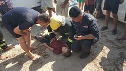 صور .. انتشال جثة طفل من بحيرة اسماك في محافظة عراقية